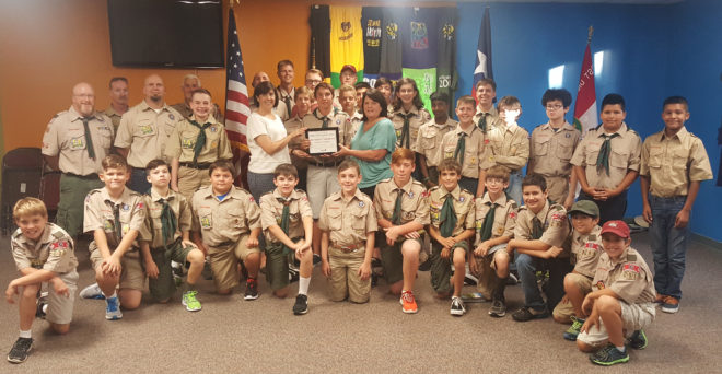 Boy Scouts Troop 291